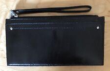 Nwt Women's Hobo International Leather Card Stacker Wristlet Wallet, Kimi, Black