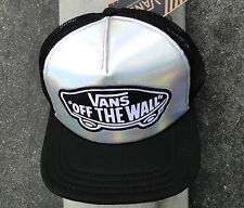 Vans Metallic Mens Womens Unisex Skate Co. Black Snapback Hat One size Fit