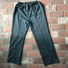 Adidas Black and Purple Women's Size Large Workout Athletic Pants