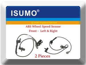 2 x ABS Wheel Speed Sensor Front Left/Right Fits:Corolla Matric  Vibe 2003-2008