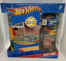Kids Play RUG Car Road Rug Hot Wheels Matchbox TRACK road signs, license, NIB