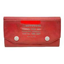 Mitutoyo Code No 186 901 Radius Gage Set