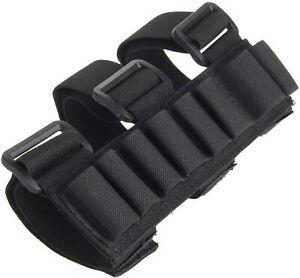 8 Round Shotgun Buttstock Shell Holder Ammo Tactical Holster for 12 Gauge US