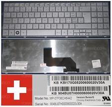Teclado Qwertz Swiss Packard Bell EasyNote MP-07F36CH6442 TR81 KB.I170G.052 Gris