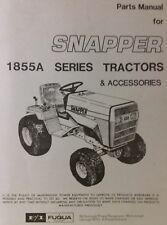 Snapper 1855A Riding Lawn Garden Tractor Parts Manual 46pg Massey Ferguson