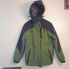 Wantdo Men's Waterproof Mountain Jacket Fleece Windproof Ski Jacket Multi-pocket