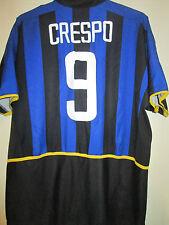 "Inter Milan 2002-2003 Crespo Home Football Shirt Size Extra Large 45""-47"" 39565"