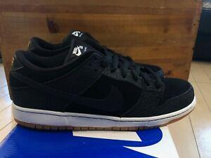 2011 Nike Dunk Low Premium SB QS Nontourage Entourage Black White Gum size 13 DS