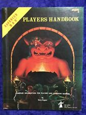 AD&D 1st Edition Players Handbook 6th Printing January 1980