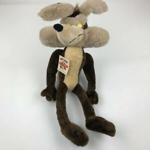 """Wile E Coyote Looney Tunes 1994 Vintage 34"""" Plush Toy NEW"""