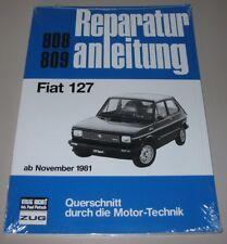 Reparaturanleitung Fiat 127 Baujahre ab November 1981 NEU!