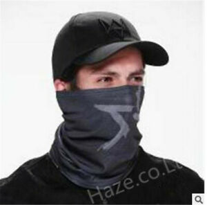 Watch Dogs Video Game Aiden Pearce Cosplay Face MASK or Hat Black Present
