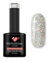 VB-1443 VB™ Line Happy Silver Glitter Saturated UV/LED soak off gel nail polish
