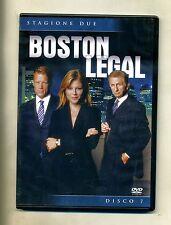 BOSTON LEGAL - STAGIONE 2 - DISCO 7 # 20th Century Fox Ent. DVD-Video 2005
