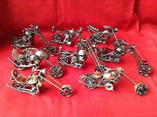 Motocicleta/Moto/chopper de chatarra-Varios Estilos - 15cm Aprox
