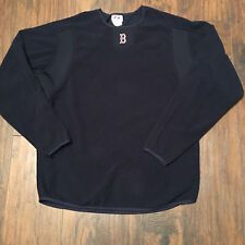 Boston Red Sox Majestic MLB Authentic Collection fleece Pullover Size Large