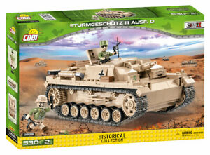 Cobi 2529 - Small Army - WWII German Assault Gun III Version D - New