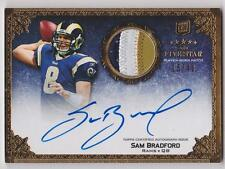 Sam Bradford 2010 Topps Five Star Rookie 3 Color Patch Autograph /40