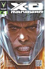 X-O Manowar (2012 3rd Series Valiant) #1 QR Code Variant NM- 1:50