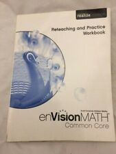 enVision Math Grade 5 Common Core Reteaching and Practice Workbook Pearson NEW