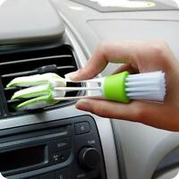 2 in 1 Keyboard Car Dust Brush Collector Computer Window Blinds Clean Tools New
