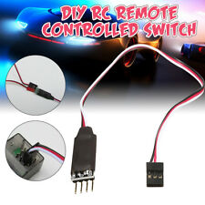 Two-Channels Switch Remote Control Car Trucks Lights Receiver Cord For RC Car