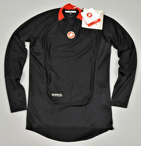 Castelli Prosecco Wind Gore-Tex Cycling Shirt Thermal Jersey Size M