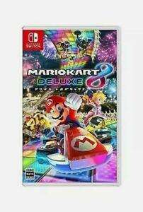 Mario Kart 8 Deluxe Nintendo Switch Please Read Description