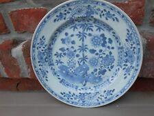 Assiette porcelaine Chine XVIIIème.Compagnie des Indes  Antique Chinese plate  C