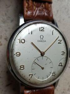 Rare grande montre jumbo de marque Omega 30T2 diamètre 37,4mm