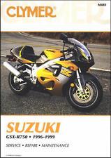 1996-1999 Suzuki GSXR 750 GSXR750 CLYMER REPAIR MANUAL