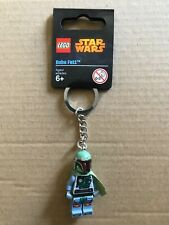 NEW UNUSED LEGO Star Wars - Boba Fett Keyring / Keychain #850998