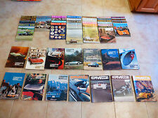 CORVETTE C1 C2 C3 C4 CORVETTE NEWS 108 MAGAZINES VOL 2-UP  INCOMPLETE