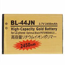 BATTERIA 2450Mah per LG OPTIMUS L3 2 E430 E730 SOL BL-44JN MAGGIORATA POTENZIATA