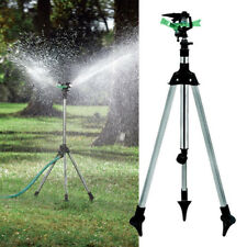 Water Sprinkler Tripod Lawn Garden Watering Yard Impulse Irrigation L Adjustable