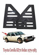 Toyota Corolla KE70 GL DX Quarter Window Visor Panel Cover Triangle 1979-1987