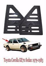 Toyota Corolla KE70 GL DX Quarter Window Visor Panel Cover Triangle 1979-1987