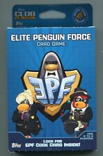 CLUB PENGUIN - ELITE PENGUIN FORCE CARD GAME