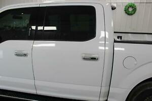 2016-20 FORD F150 XLT Left LH Side (Rear Door) Crew Cab Painted Oxford White