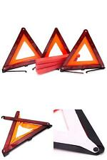 New listing 3 Triangles Safety Road Kit Red Reflector Triangle Emergency Warning Car Vehicle