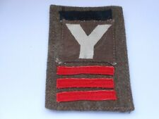 5th  division printed  British cloth formation sign combination patch