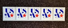 2016USA #5061 5c NonProfit Org Star  -  Coil Strip of 5   Mint NH