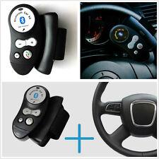 Black Vehicles Interior Steering Wheel Bluetooth Handsfree Handfree Speaker Kit