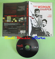 DVD film THE WOMAN SHARPER Seijun Suzuki GIAPPONESE +SOTTOTITOLI no mc lp (D6)