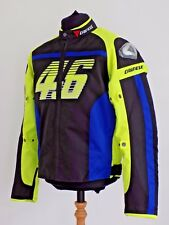 Dainese Textile Winter/Summer Jacket VR 46 Rossi detachable inner Lining Armour