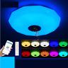 LED Ceiling Light RGB Bluetooth Music Speaker Dimmer APP Remote Control Lamp