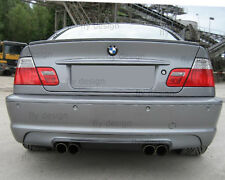 For BMW 3er Coupe Tuning e46 Spoiler m3 Rear Wing Boot Rear Lip Fern Green