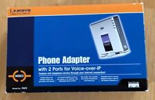 Cisco Linksys PAP2 Phone Adapter For VOIP - Unlocked