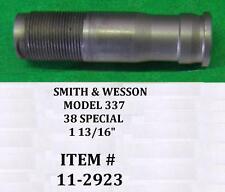 Smith & Wesson Model 337 AIRLITE Titanium Handgun 38 SPECIAL