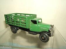 """Dinky Toys Modelo No.25f los jardineros Camión de mercado """"versión"""" Verde Oscuro"""